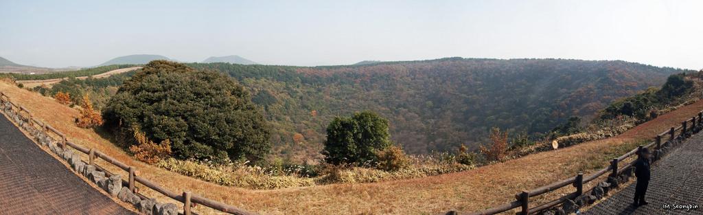 Sangumburi Crater - Jeju Island