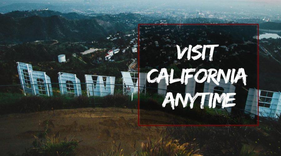 Visit California Anytime