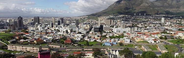 Capetown city view