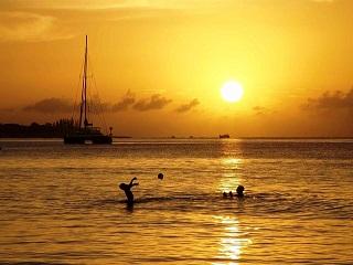 off-season in the Caribbean