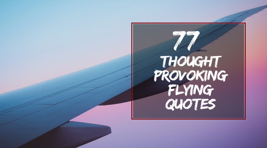 77 Thought Provoking Flying Quotes