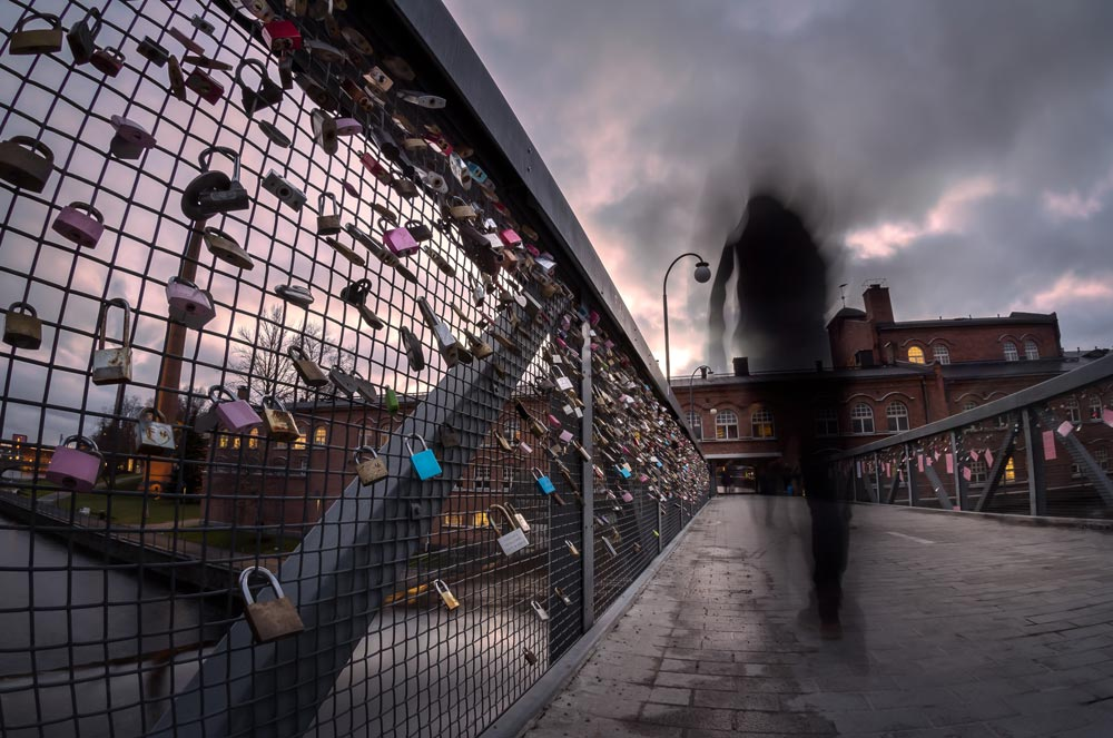 Love Locks on Pont Des Arts - Paris, France - 4 Places You'll Never See in Your Bucket List Anymore