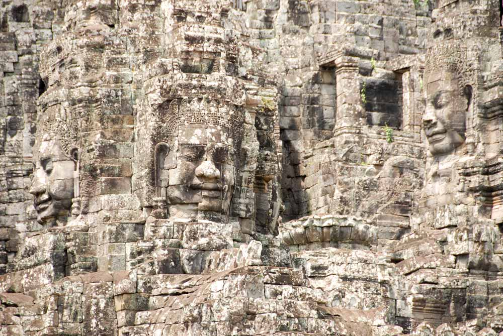 Bayon Temple, Krong Siem Reap, Cambodia - 10 Most Iconic Places Used in Movies