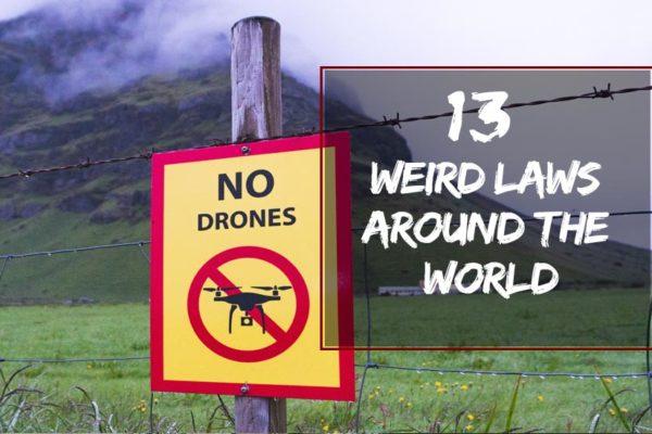 Weird Laws Around the World