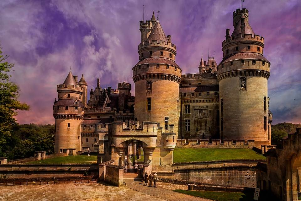 Castle of Pierrefonds - Castles Straight Out From Fairy Tales