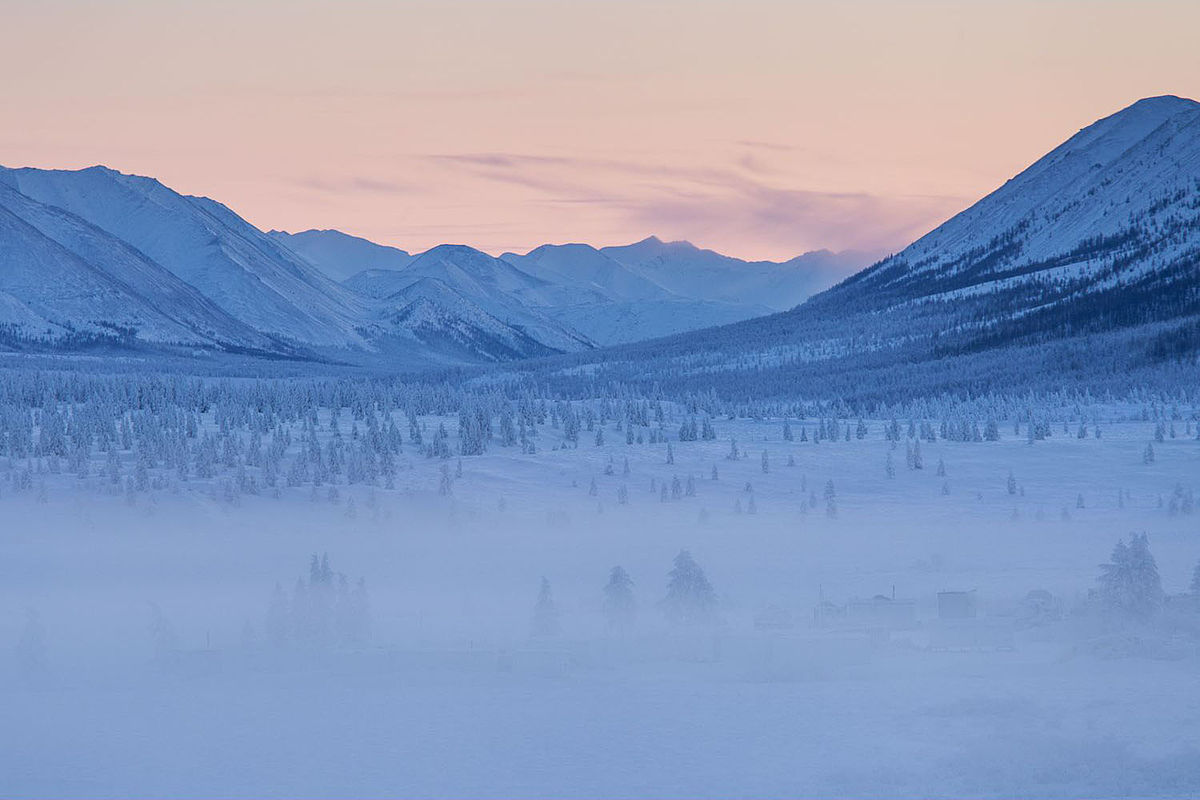 Oymyakon forests - Remote Places on Earth