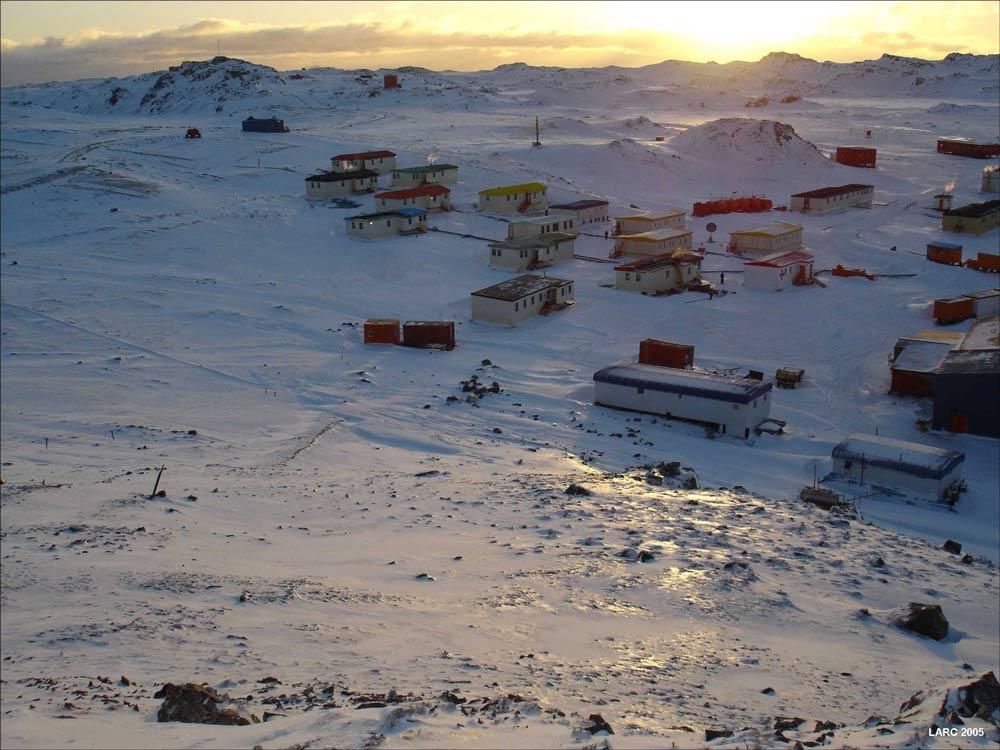 Villa Las Estrellas en invierno - remote places on Earth
