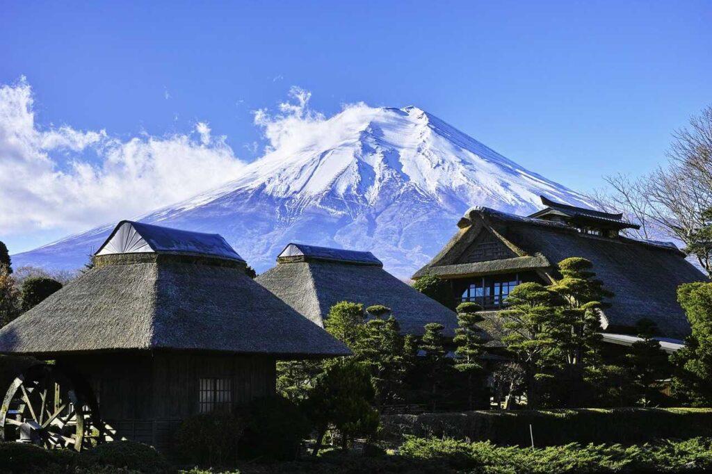 Mt. Ffuji in Japan